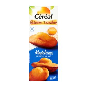 Céréal madeleines met eieren product photo