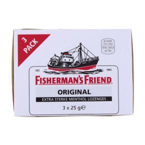 Fisherman's Friend original extra sterke menthol lozenges 3-pack product photo