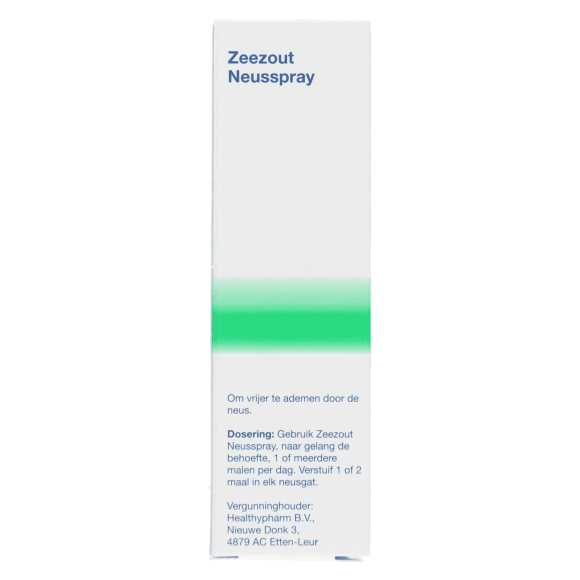 Healthypharm Zeezout neusspray 20 ml product photo