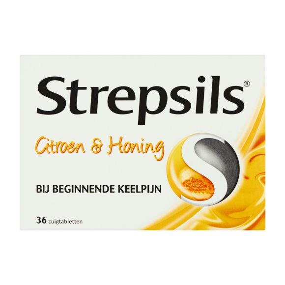 Strepsils Citroen / Honing zuigtabletten product photo