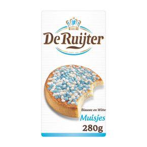 De Ruijter Muisjes blauw & wit product photo