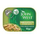 John West Sardinefilets zonder graat in olijfolie product photo
