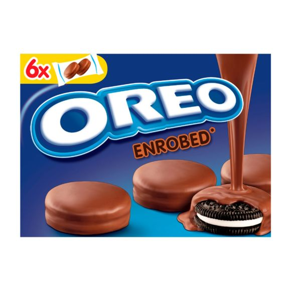 Oreo Covered cookies melk product photo