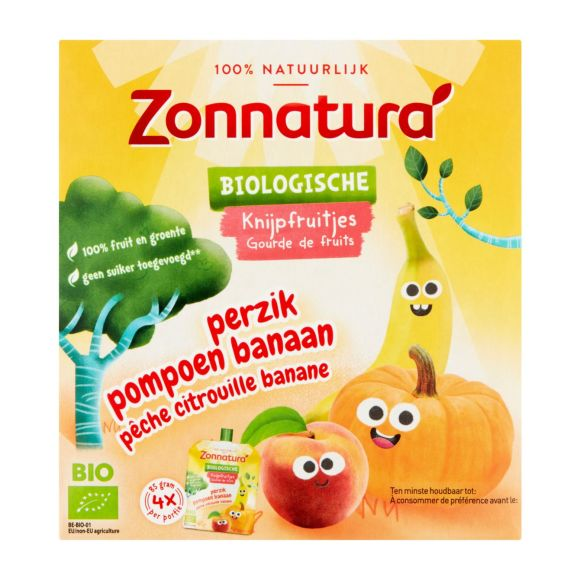 Zonnatura Knijpfruit Banaan Pompoen product photo