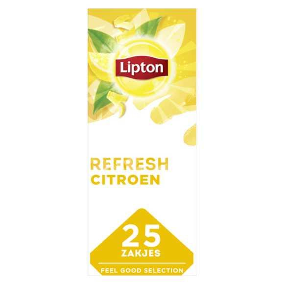 Lipton Feel good zwarte thee citroen product photo