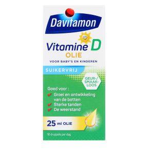 Vitamine D olie voor baby's en kinderen 25 ml product photo