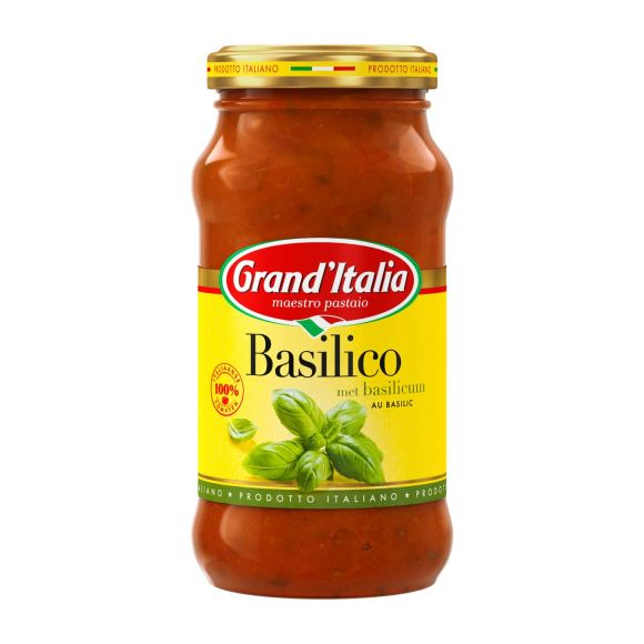 Grand'Italia Pastasaus basilico product photo