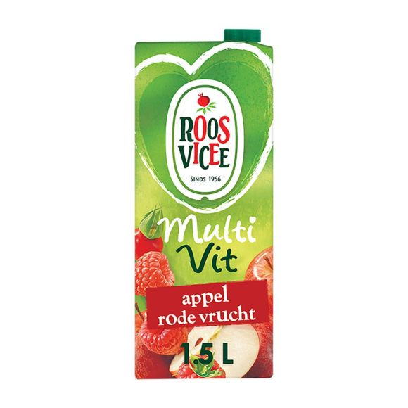 Roosvicee Multivit appel rode vrucht product photo