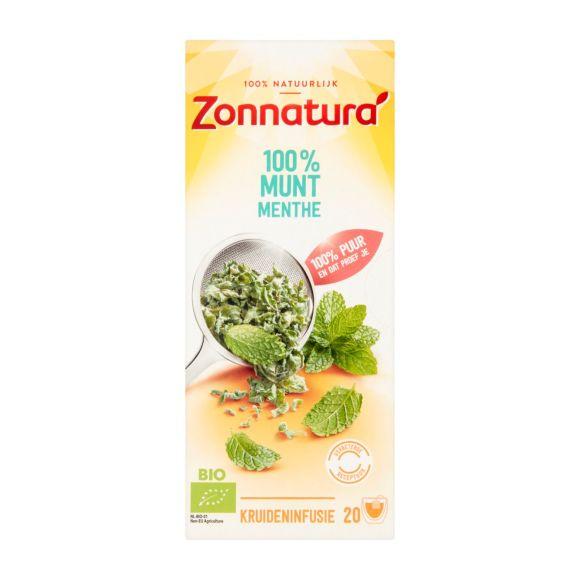 Zonnatura Biologische thee munt product photo