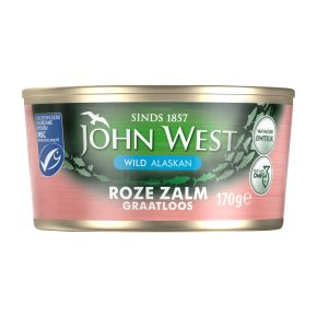 John West Roze zalm zonder graten en vel product photo
