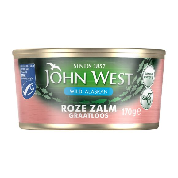 John West Roze zalm zonder graten en vel product photo