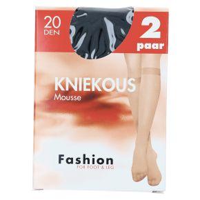 Fashion Kniekous mousse zwart one-size product photo