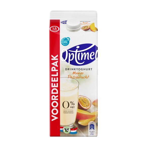 Optimel Drinkyoghurt Mango Passievrucht 0% Vet 1500 ml Pak product photo