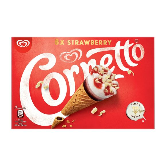 Ola Cornetto aardbei product photo