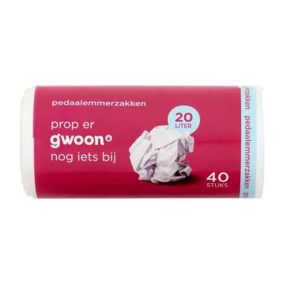 g'woon Pedaalemmerzakken 20 liter product photo