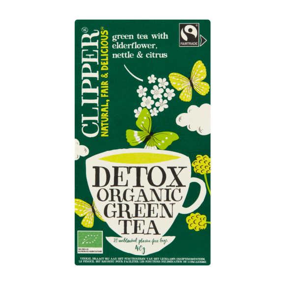 Clipper Green tea detox product photo