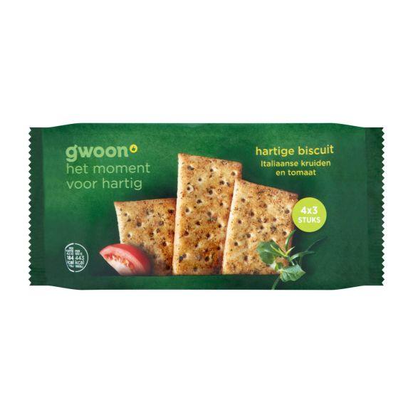 g'woon Hartige biscuit italiaanse kruiden product photo