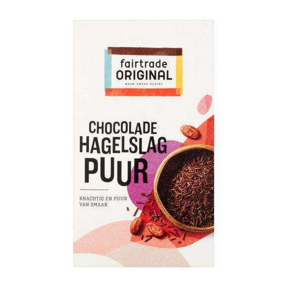 Fairtrade Original Chocoladehagel puur product photo