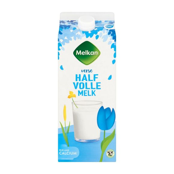 Melkan Halfvolle melk product photo