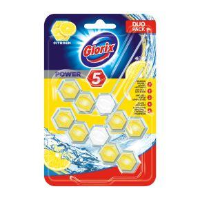 Glorix Toiletblok citroen 2-pack product photo