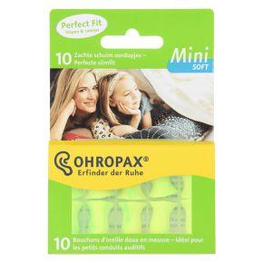 Ohropax Mini soft oordopjes 10 stuks product photo