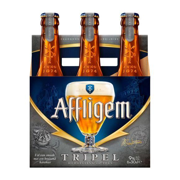 Affligem Tripel bier fles 6 x 30 cl product photo
