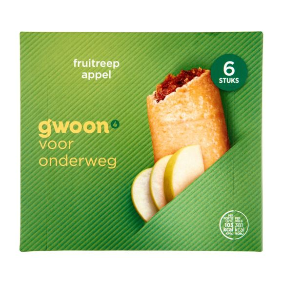 g'woon Fruitreep appel product photo