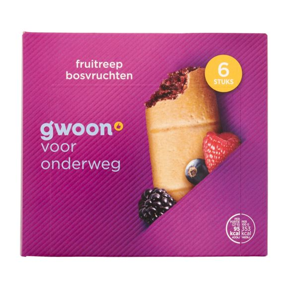 g'woon Fruitreep bosvruchten product photo