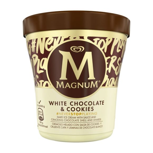 Magnum White Chocolate & Cookies product photo
