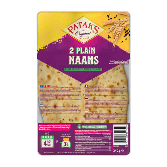 Patak's Naanbrood naturel product photo