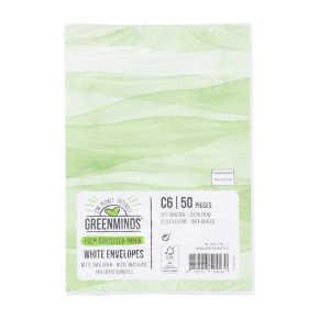 Greenminds Enveloppen C6 zelfklevend product photo