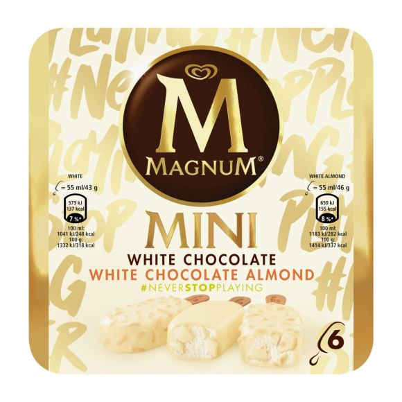Magnum White Chocolate and White Almond product photo