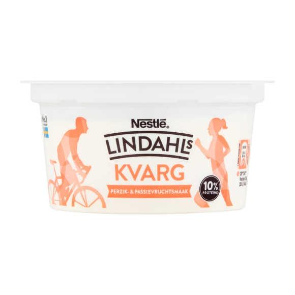 Lindahls Kvarg perzik passievrucht product photo