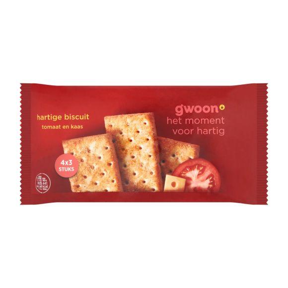 g'woon Hartige biscuit kaas tomaat product photo