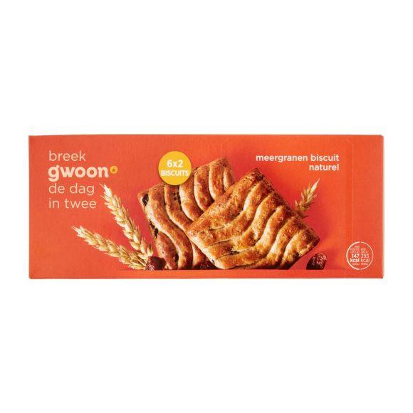 G'woon Meergranen biscuit krenten en rozijnen product photo