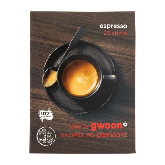 g'woon Espresso product photo