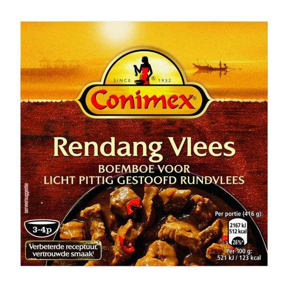 Conimex Boemboe rendang vlees product photo