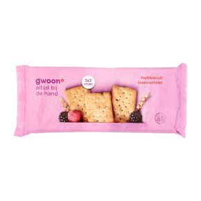 g'woon fruitbiscuit bosvruchten product photo