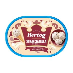 Hertog Stracciatella ijs product photo