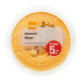 Coop Hummus pikant product photo