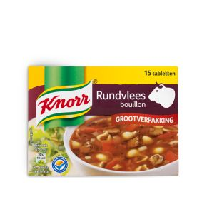 Knorr Bouillon rundvlees product photo