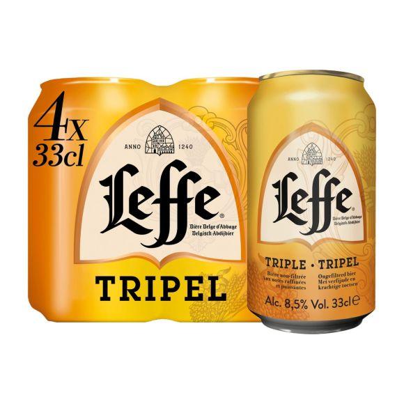 Leffe Tripel Blikken 4 x 33 cl product photo
