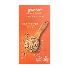 g'woon Zilvervliesrijst quinoa + spelt product photo