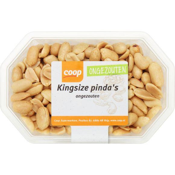Kingsize pinda's ongezouten product photo