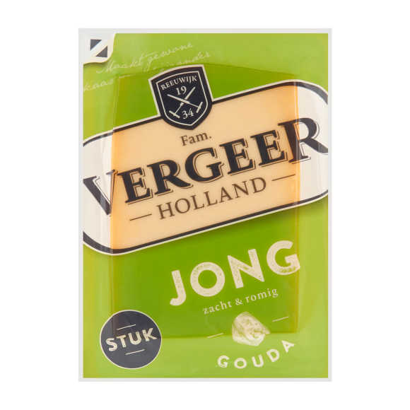 Vergeer Holland Jong Gouda kaas 48+ product photo