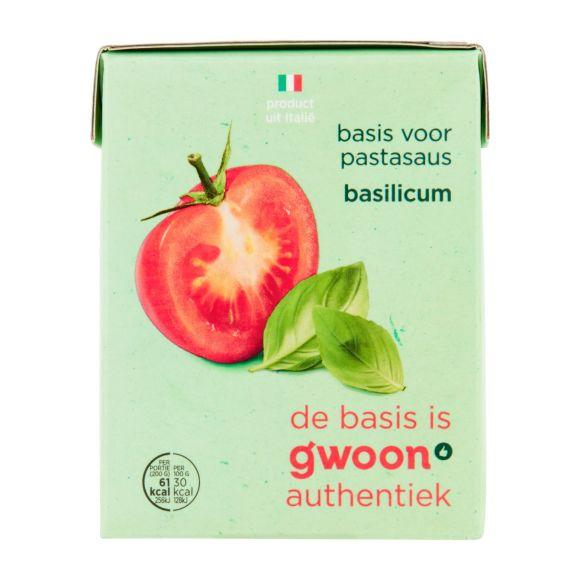 g'woon Basis pastasaus basilicum product photo