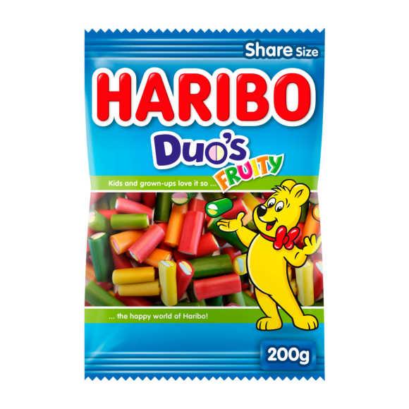 Haribo duo's fruity product photo