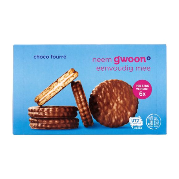 g'woon Choco fourre product photo
