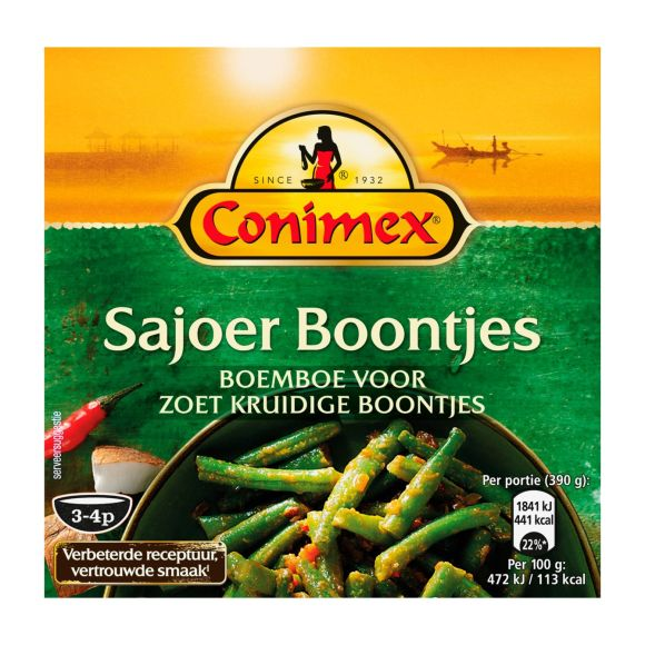 Conimex Boemboe sajoer boontjes product photo