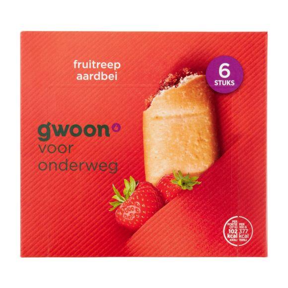 g'woon Fruitreep aardbei product photo